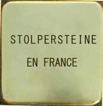 Stolpersteine France